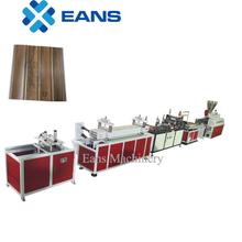 PVC wall panel extruder machine line