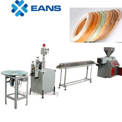PVC edge band extruder machine line