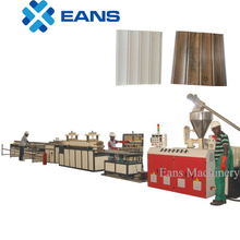PVC wall panel manufacturing machine plant with turn key setup