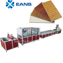Wood powder composite WPC wall panel production line