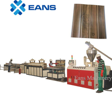 Twin screw extruder machine for PVC wall panel