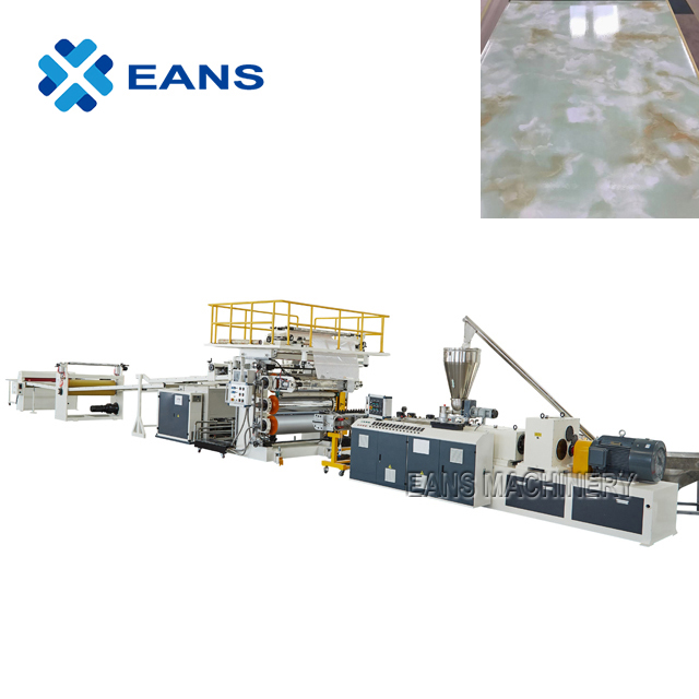 SPC vinyl flooring making machine