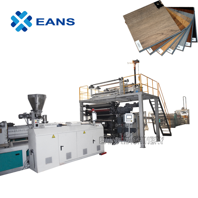 High Glossy PVC Laminate Marble Sheet Production Line with UV Coating