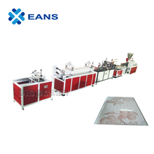55/110 double screw extruder PVC ceiling panel making machine with hot stamping