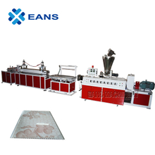 PVC wall ceiling panel production line with film lamination